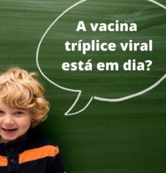 vacina tríplice viral